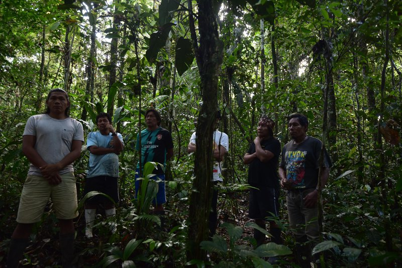Sapara nation members in Ecuadorian Amazon - 'modern' society needs to learn living with the earth from indigenous peoples @ Ashish Kothari.jpg