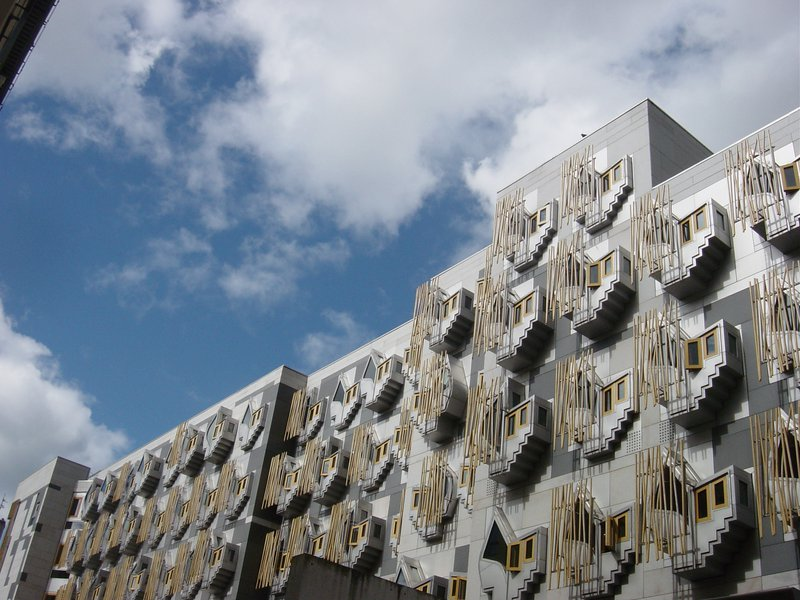The Scottish Parliament, where the SNP are on course to win an historic third term (wikimedia)