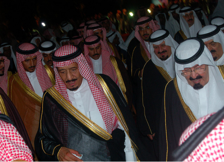 King Salman with his deceased half-brother King Abdullah. Flickr/missed Call. Some rights reserved