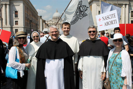 March for Life, Rome, 2012.