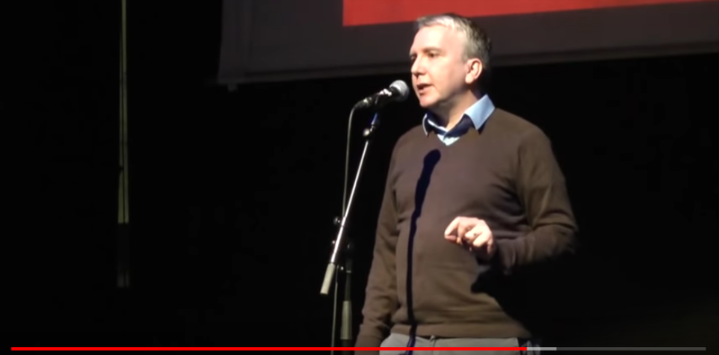 Mark Fisher, author of Vampire's Castle and Capitalist Realism, February 2016.