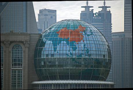 Shanghai international convention centre. Harvey Barrison/Flickr. Some rights reserved.