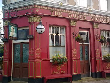 'The Queen Vic'. Wikimedia Commons/Matt Pearson. Some rights reserved.