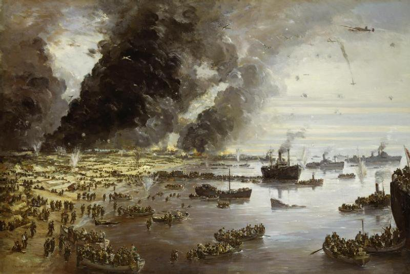 The withdrawal from Dunkirk