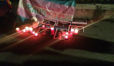 Trans Day of Remembrance vigil in Bucharest.jpg