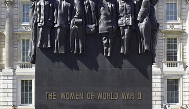 Monument to the Women of World War II, Whitehall, 2014.