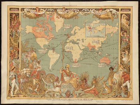 World map glorifying the late-19th-century British Empire. Norman B. Leventhal Map Center/Flickr. Some rights reserved.