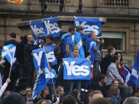 Yes campaign, Scotland. Demotix/Allison Munro. All rights reserved.