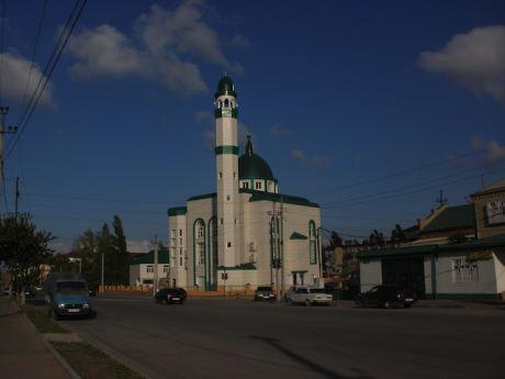 The Alburikent Mosque, whose Iman was shot by unknown assailants in August 2013