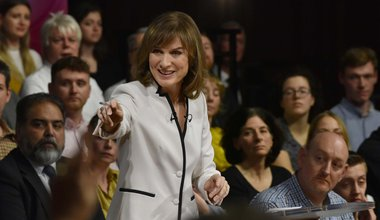 Fiona Bruce on BBC Question Time