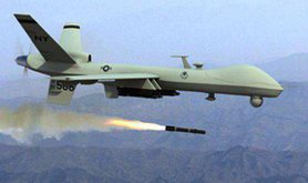 Drone launching missile