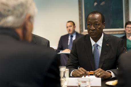 Ousted Burkina Faso president Blaise Compaore. Flickr/Ashton Carter. Some rights reserved.