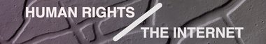 Human rights and the internet partnership banner