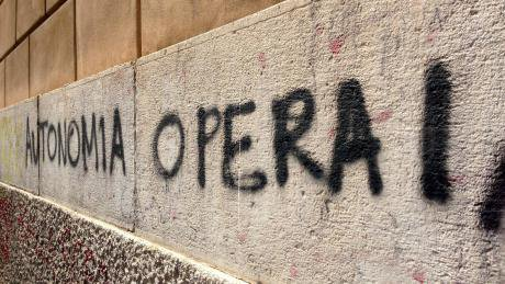 A graffiti by Palermo's Teatro Massimo. Photo by the author.