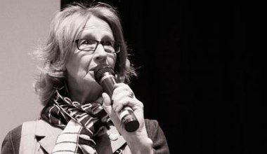 Jean Urquhart MSP addressing last year's Radical Independence Conference - National Collective