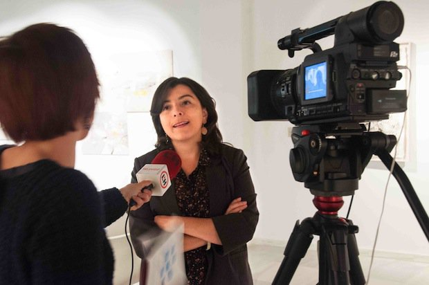Image of Maritza, a woman featured in the Women of the World exhibition