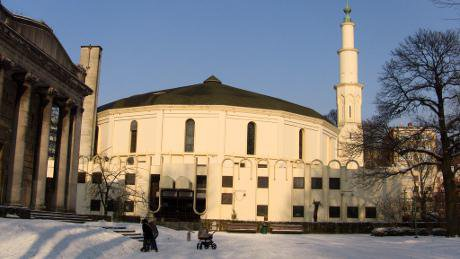 The Great Mosque of Brussels, which was part funded by Saudi Arabia. William Murphy/Flickr. Some Rights Reserved.