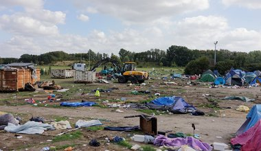 Dunkirk evictions