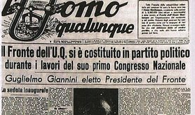 the Front of the Ordinary Man constitutes itself as a political party. L'Uomo Qualunque/Public domain.