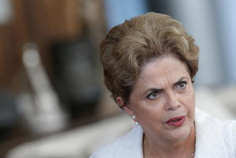 Suspended Brazilian President Dilma Rousseff. Credit: Eraldo Peres/AP/Press Association Images. All rights reserved.
