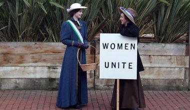 Marking the 100th anniversary of the Representation of the People Act. PA Images/Steve Parsons. All rights reserved