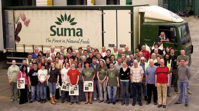 Suma is a contemporary example of a workers' co-op