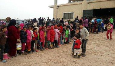 Refugee children in Aleppo